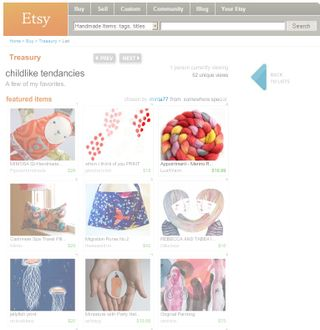 Etsy-Treasury-March-13-2009